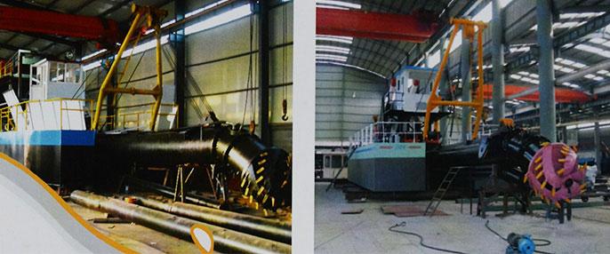 HLC250型液压绞吸式挖泥船