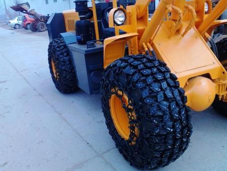 裝載機輪胎保護鏈