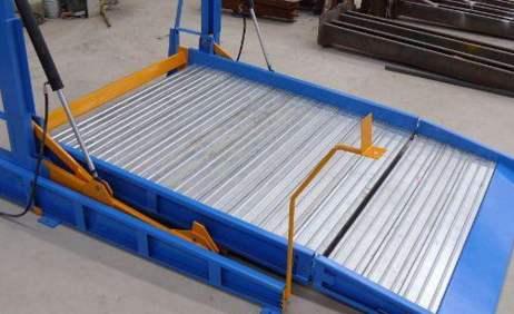 立體車庫載車板材料