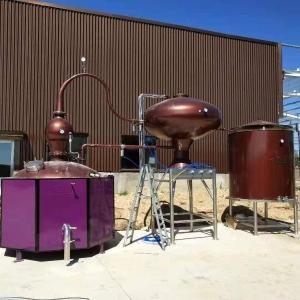 夏朗德壶式蒸馏设备