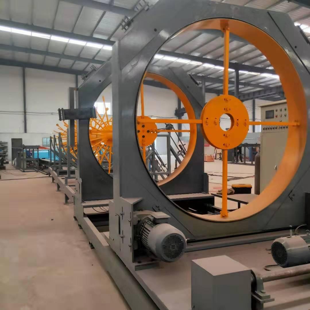 大型钢筋笼滚焊机