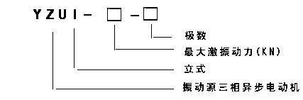 YZU立式振動電機