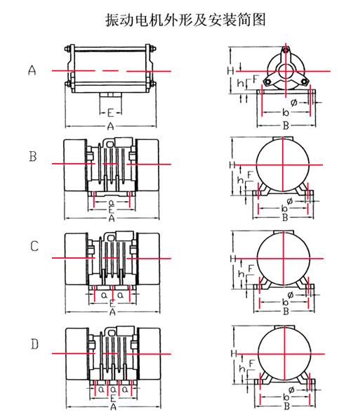 YZS臥式振動電機