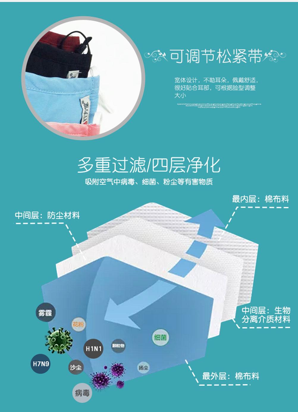 新型防病毒口罩