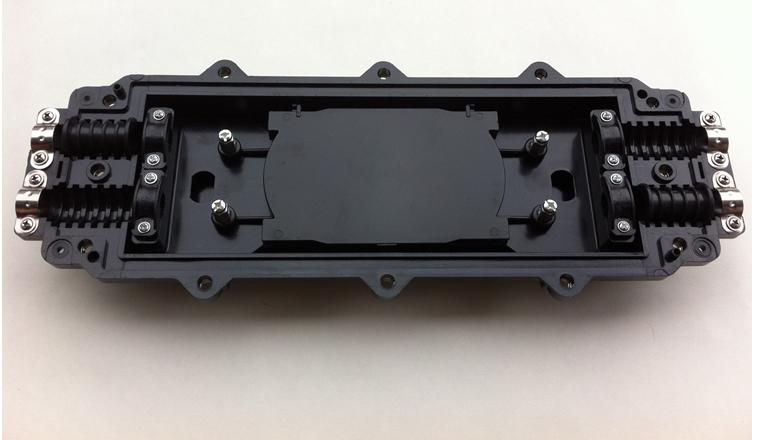卧式光缆接头盒-2进2出24芯