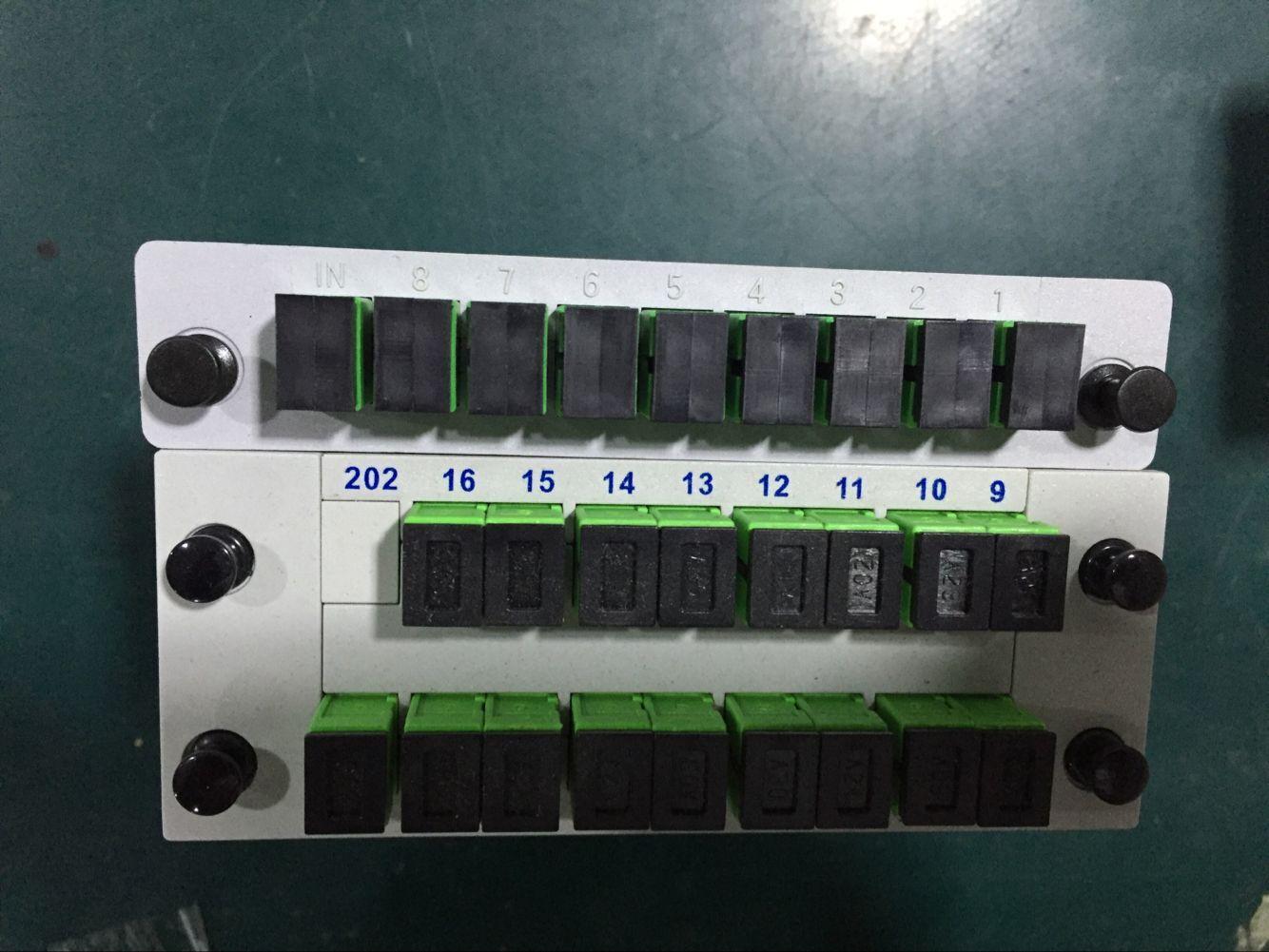 1分16盒式光分路器