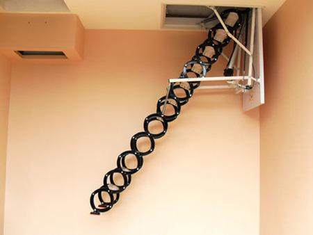 缩楼梯定制安装