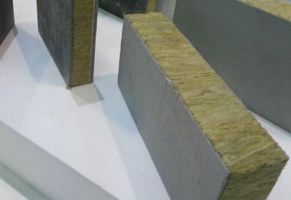 保温岩棉复合板