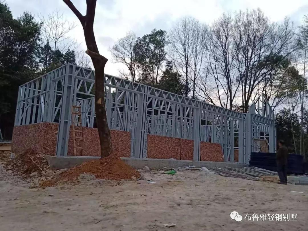 广西轻钢别墅防火实验