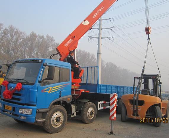 16噸自卸吊車