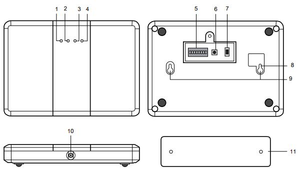 RPW中继器无线接收器