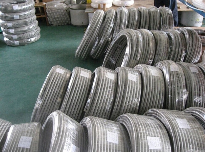 Teflon hose braid with SUS 304