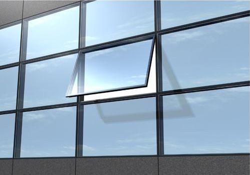 环保节能单银玻璃