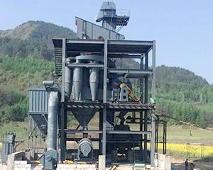 新乡机制砂生产线