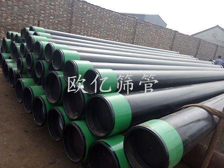 石油防砂筛管安装