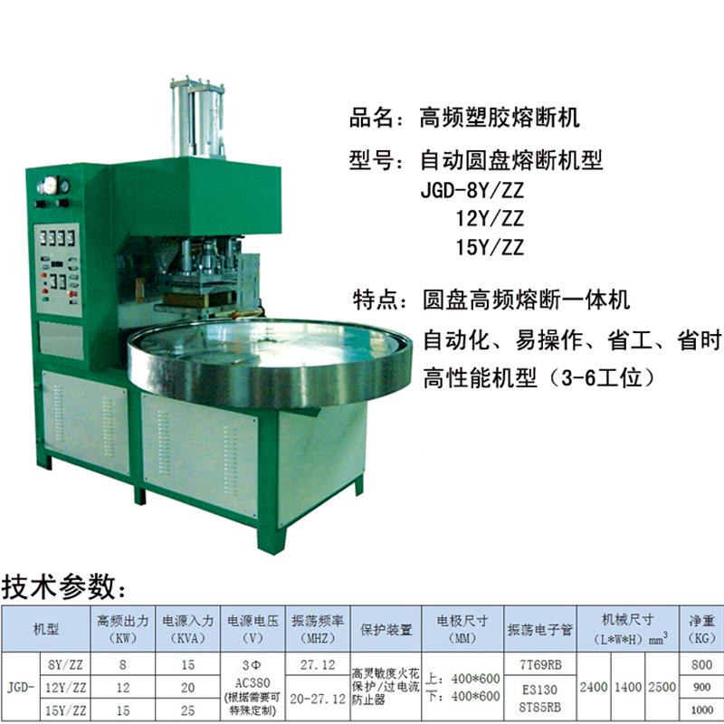 自動圓盤熔斷機