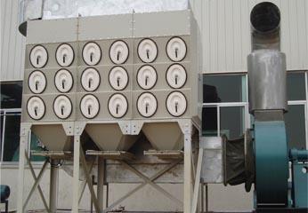 兰州滤筒式除尘器