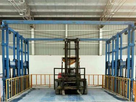 河南固定式升降货梯平台厂家