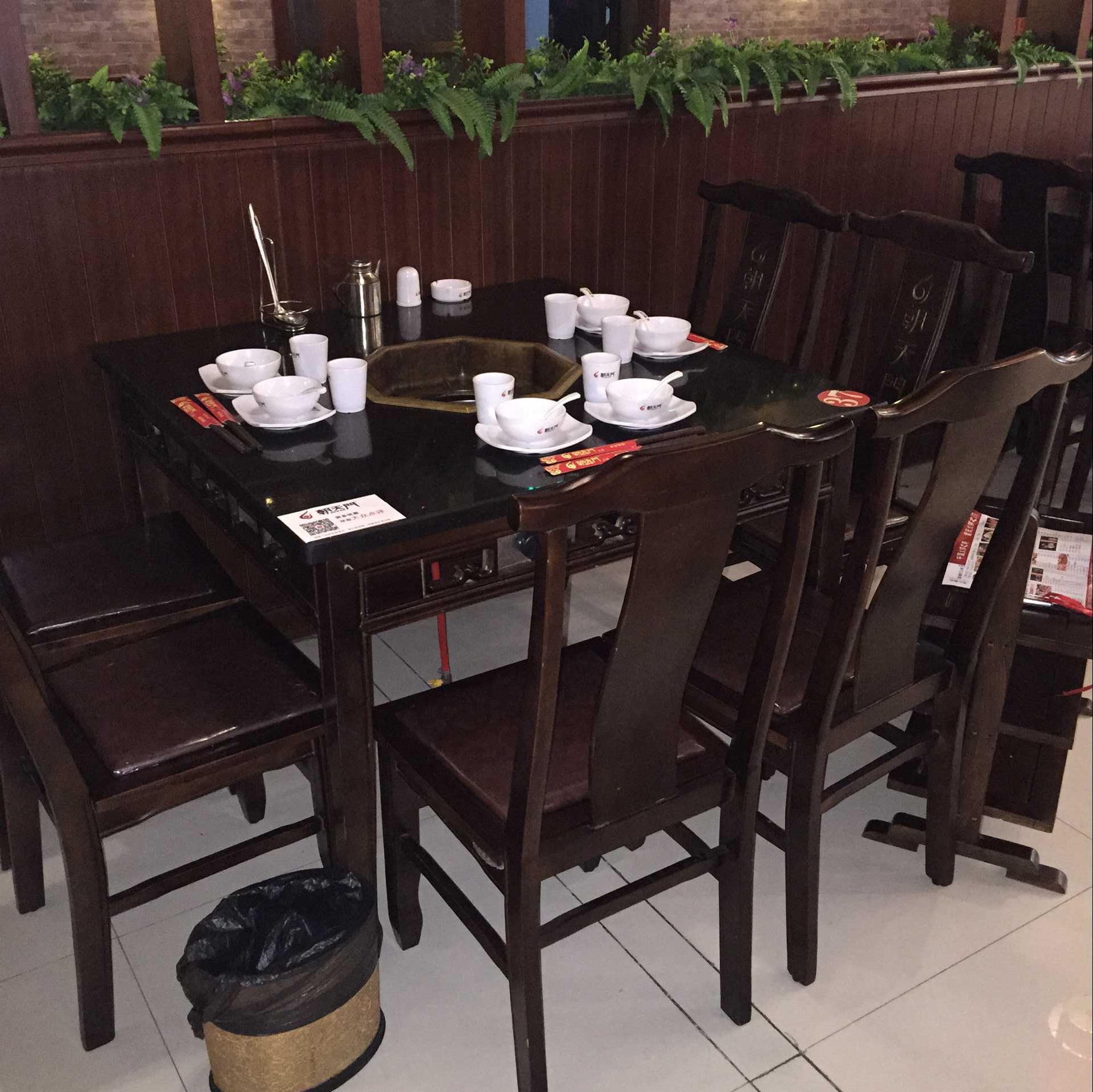 火锅店餐桌定做