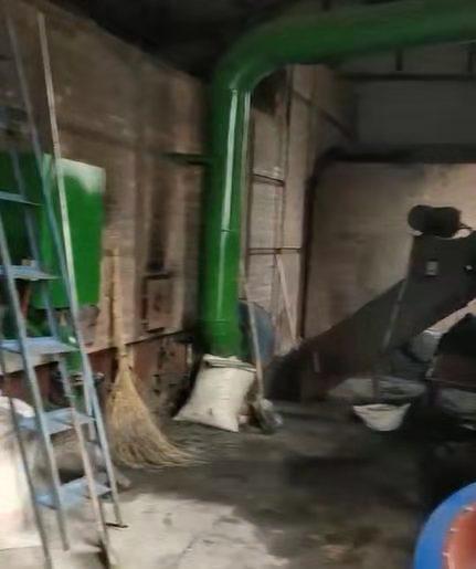 粮食烘干塔热风炉改造