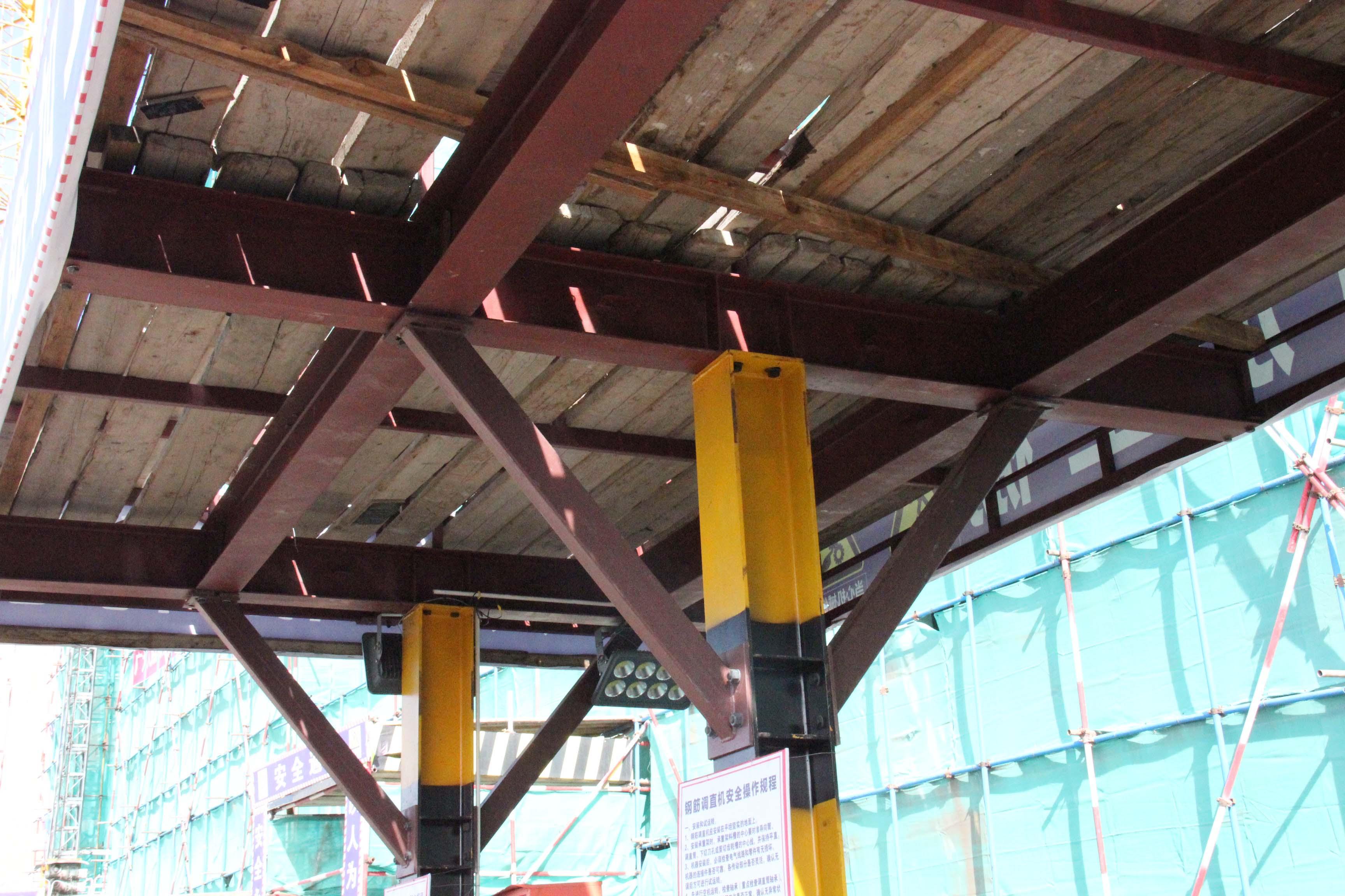 材料加工定型化防護棚