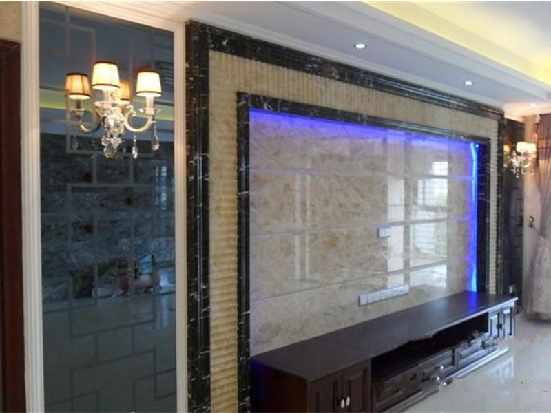 玻璃背景墙加工