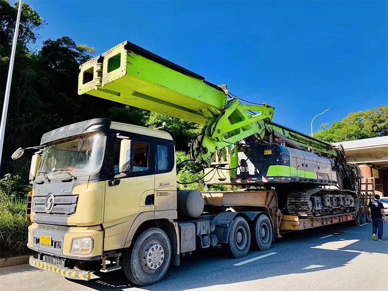 旋挖机运输