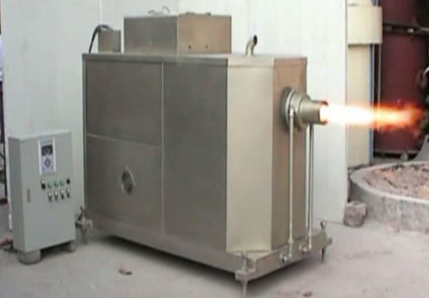 颗粒熔铝炉