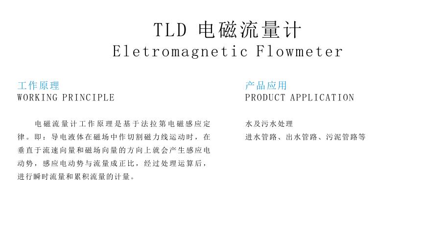 TLD 电磁流量计