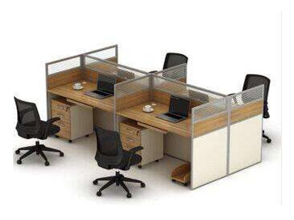 周口四人位简易办公桌
