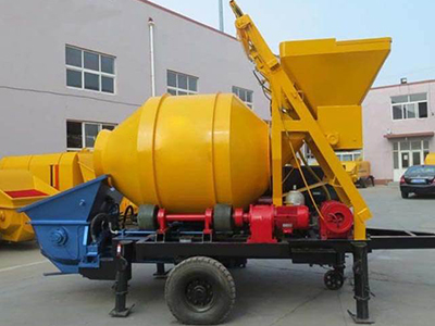 混凝土搅拌拖泵