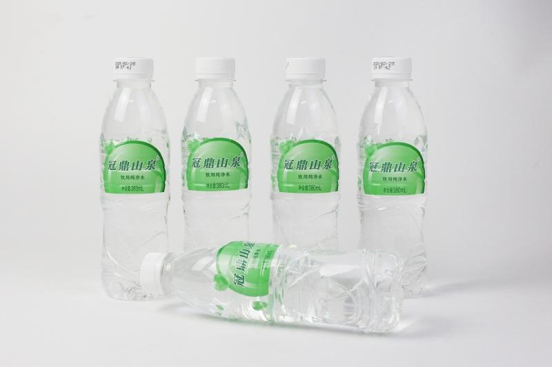 山泉水380ml支裝水
