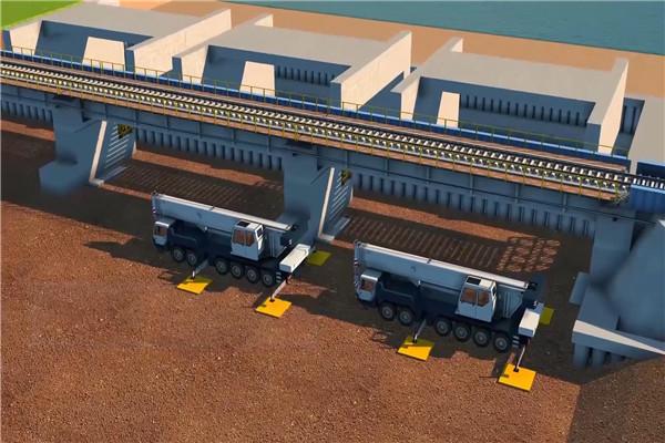 高速公路施工动画制作