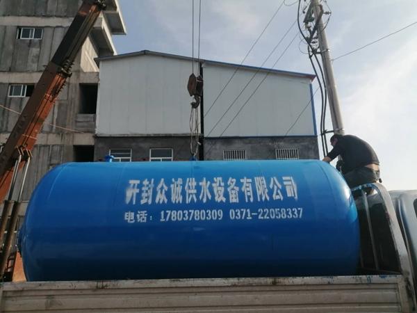 10立方臥式無塔供水設備