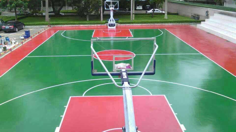 青海硅pu球场地坪