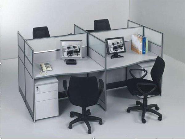 南陽4人電腦桌