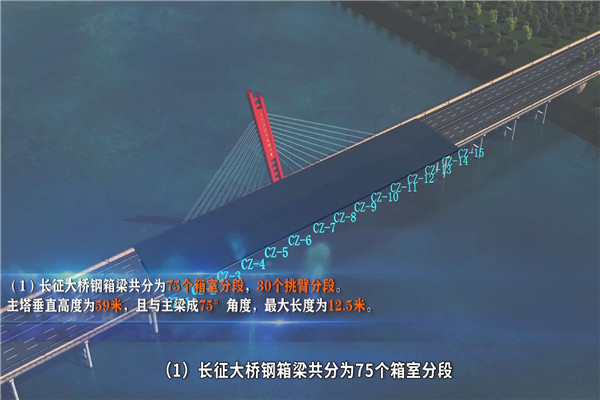 高架桥施工动画制作