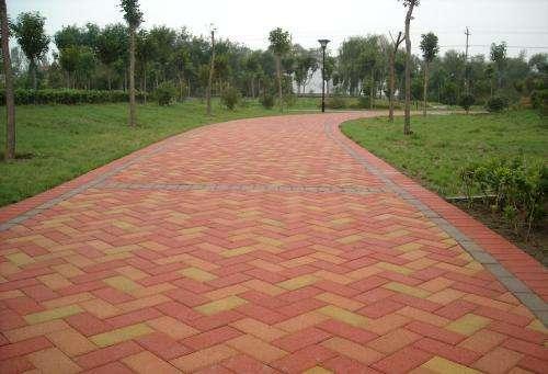 青海彩色马路砖