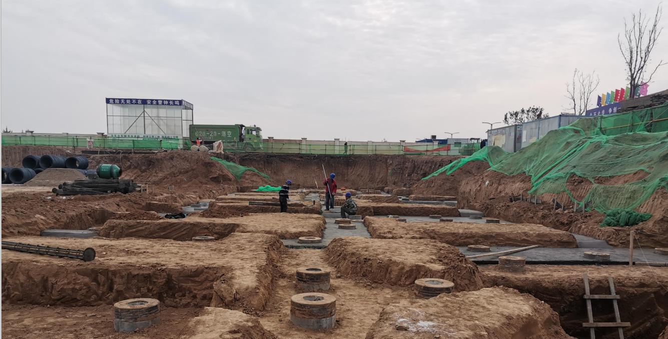 岩泰|咸阳市西咸新区空港•绿地新城4期项目桩基工程