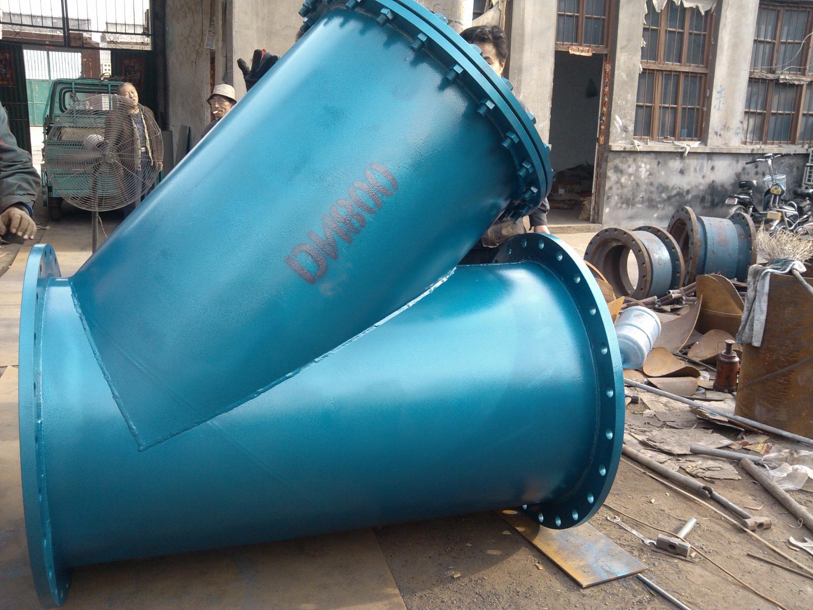 Y型過濾器大口徑焊接