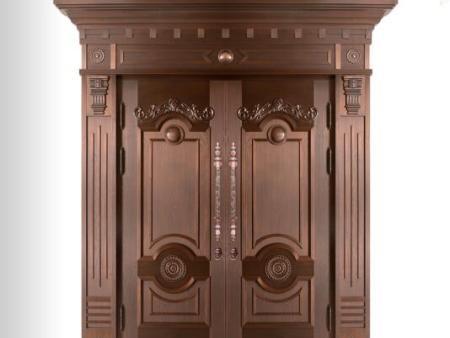 广西对开铜门