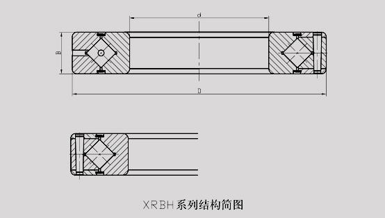 交叉滾子轉盤軸承