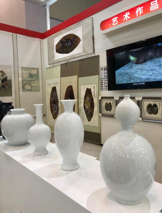 白瓷在苏州版博会