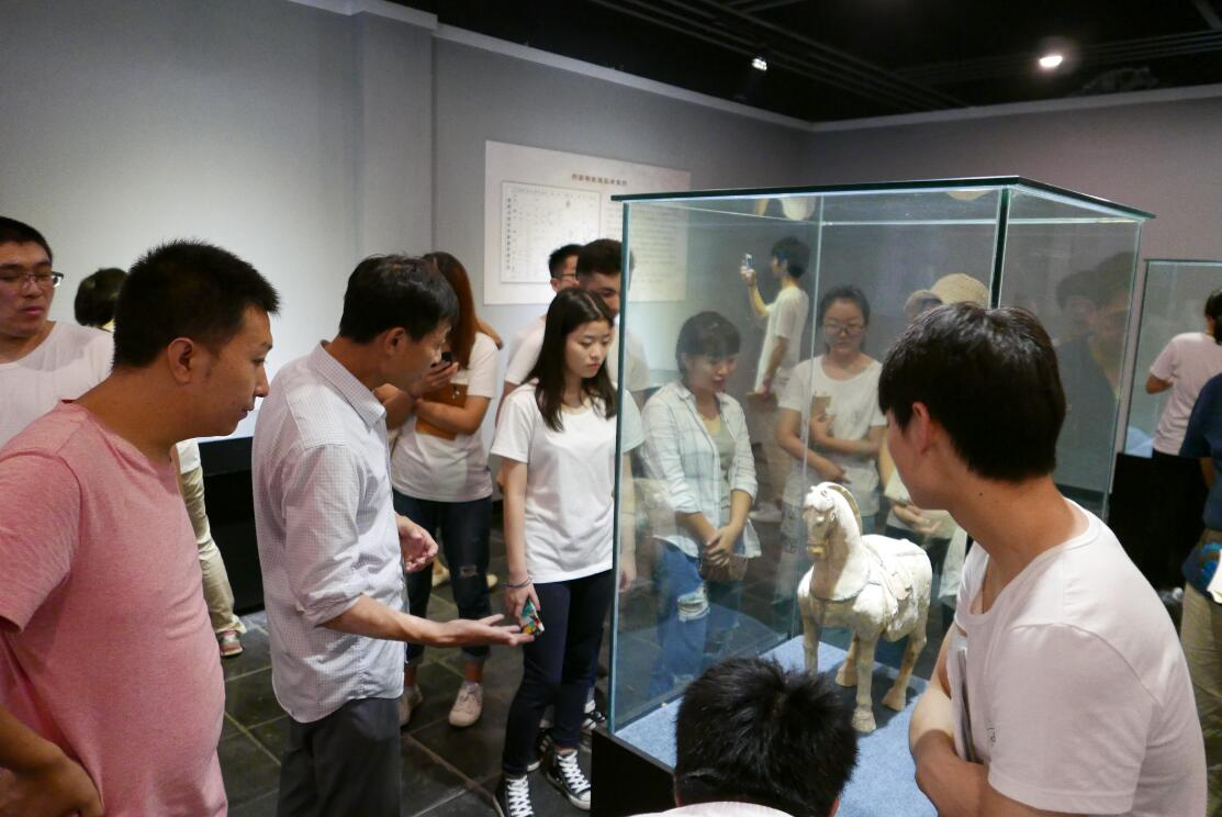 北京联合大学参观邢窑博览园