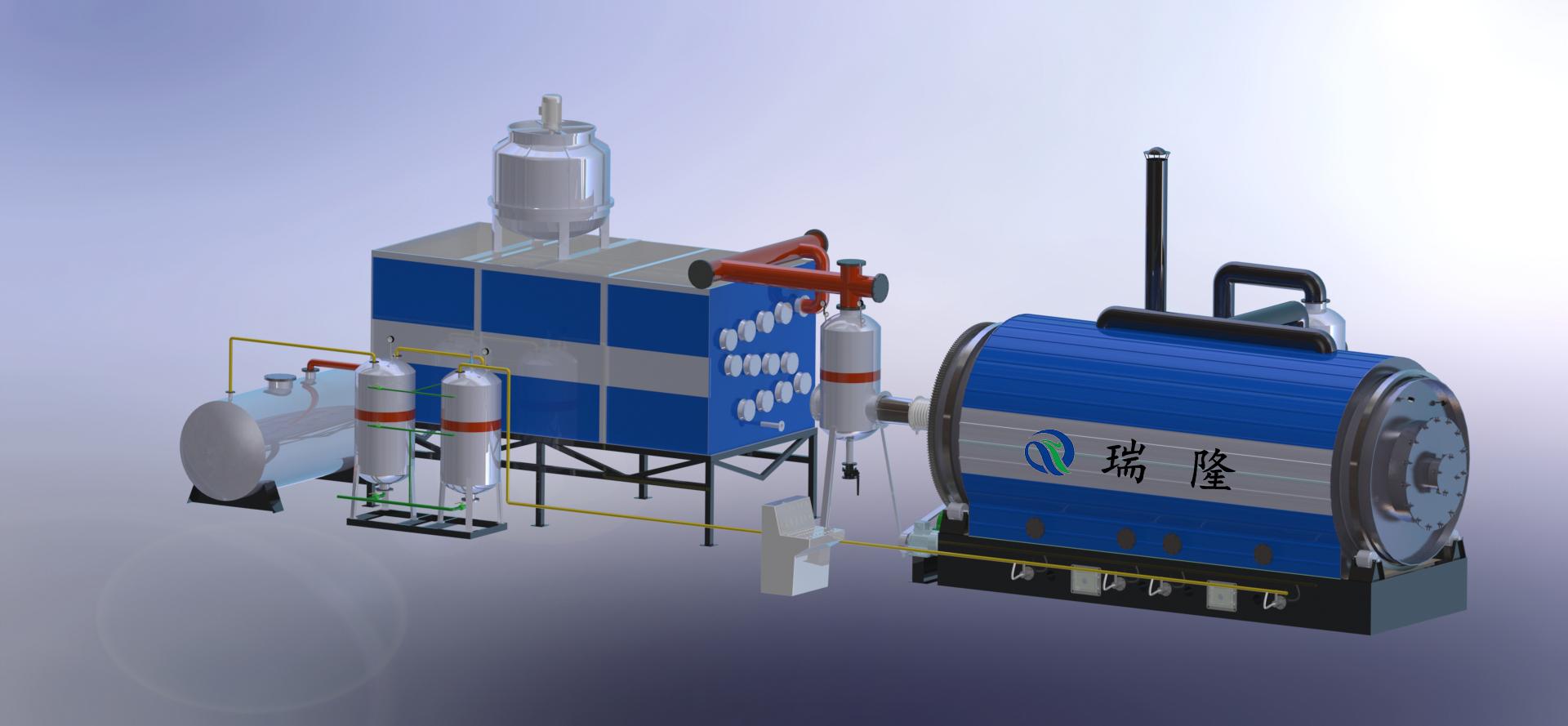 热解炭化设备