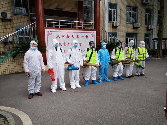 学校消毒杀菌