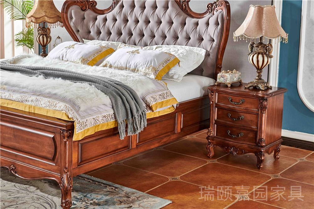 奢华美式床
