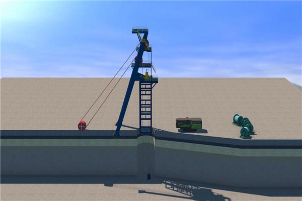 工程施工动画制作