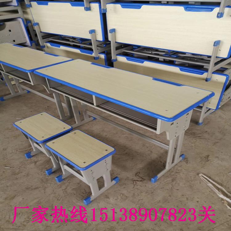 開封學生單人鋼木課桌凳
