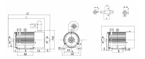 YZTD多速電機